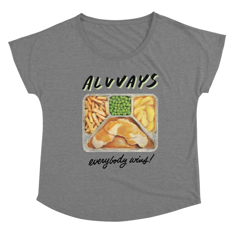 Alvvays - everybody wins! Women's Scoop Neck by Polyvinyl Threadless Shop