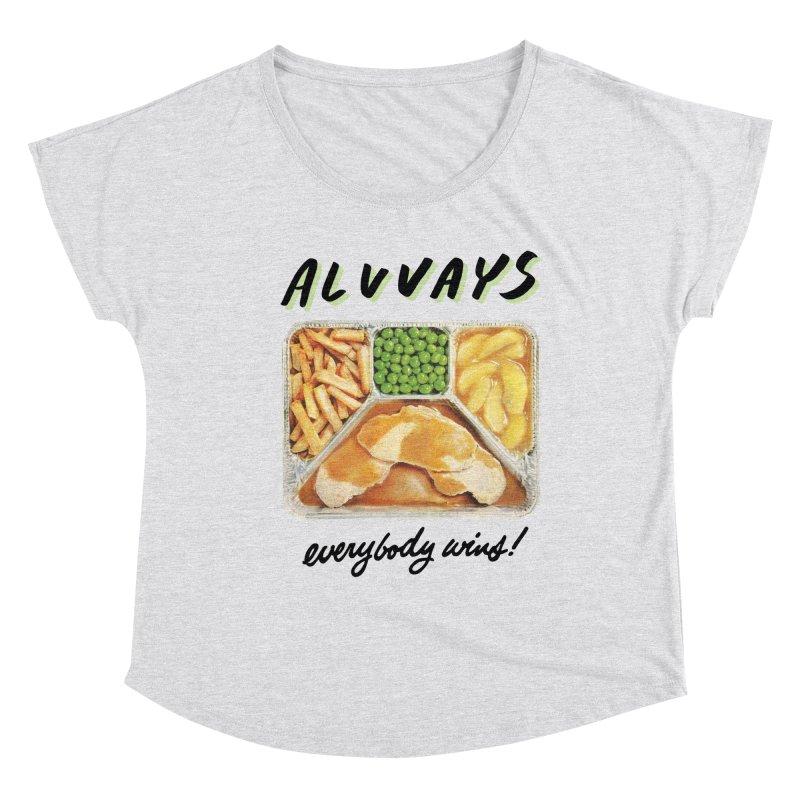 Alvvays - everybody wins! Women's Scoop Neck by Polyvinyl Threadless Shop