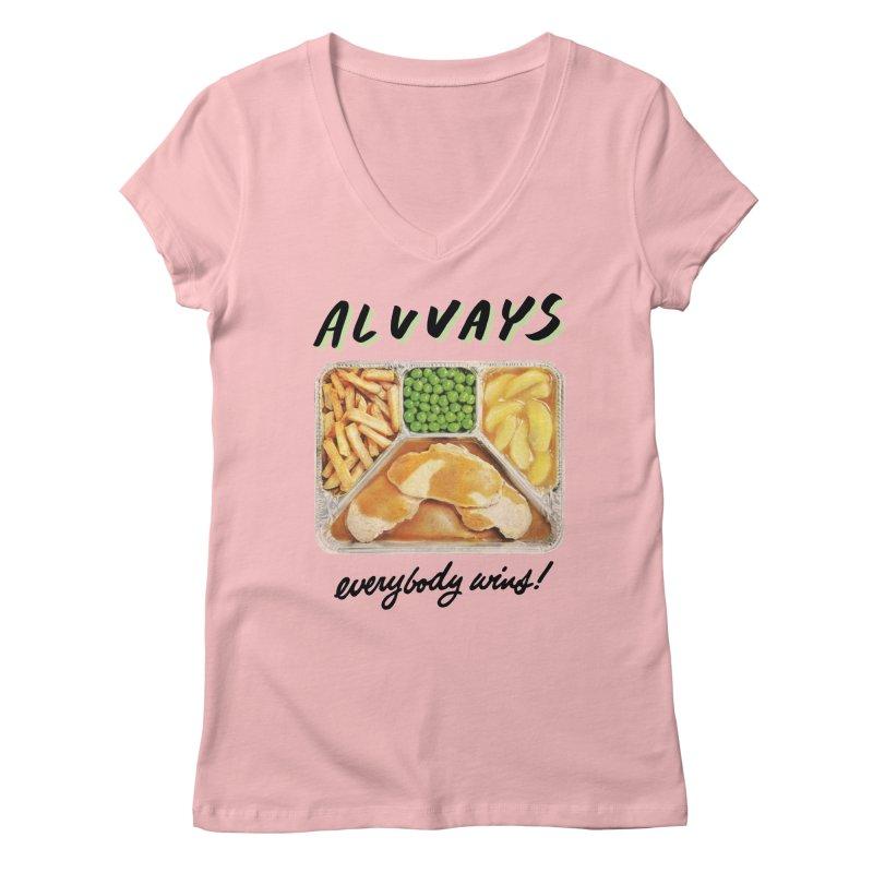 Alvvays - everybody wins! Women's V-Neck by Polyvinyl Threadless Shop