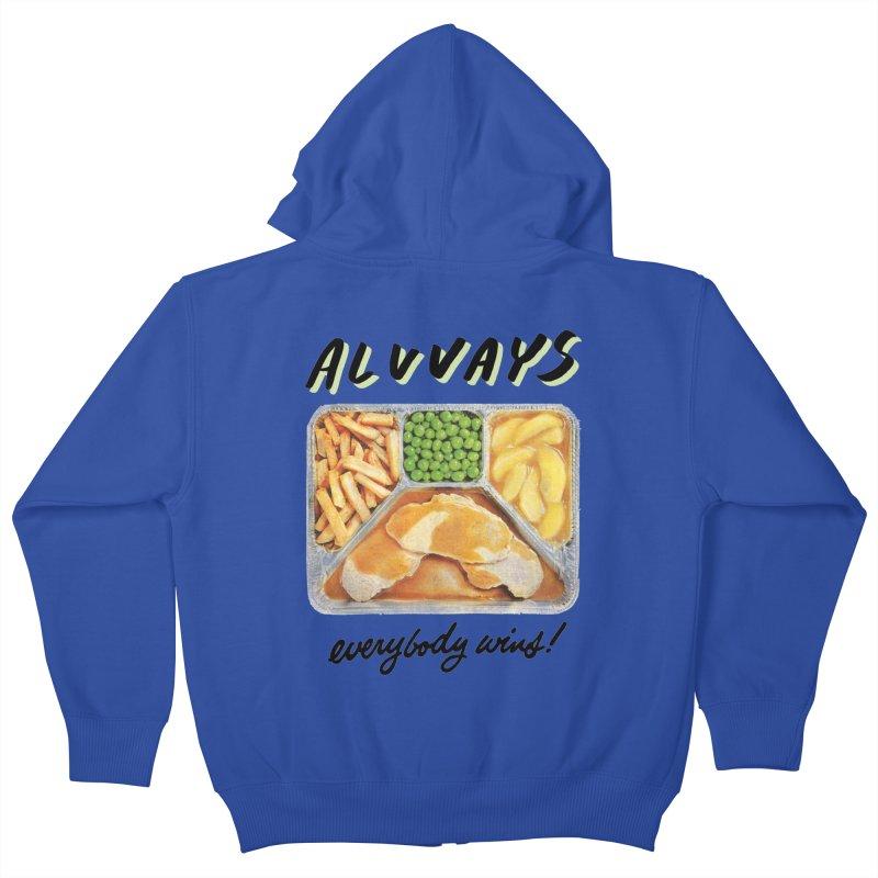 Alvvays - everybody wins! Kids Zip-Up Hoody by Polyvinyl Threadless Shop