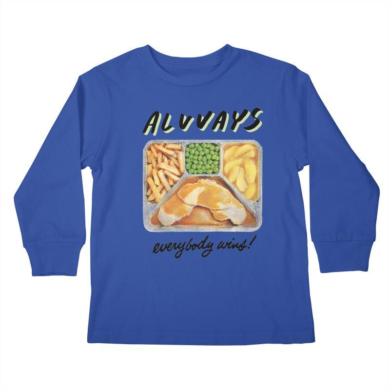 Alvvays - everybody wins! Kids Longsleeve T-Shirt by Polyvinyl Threadless Shop