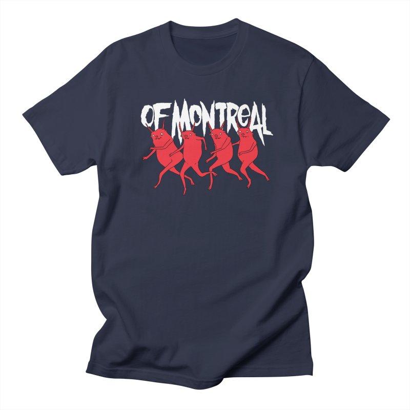 of Montreal - Devils in Men's Regular T-Shirt Navy by Polyvinyl Threadless Shop