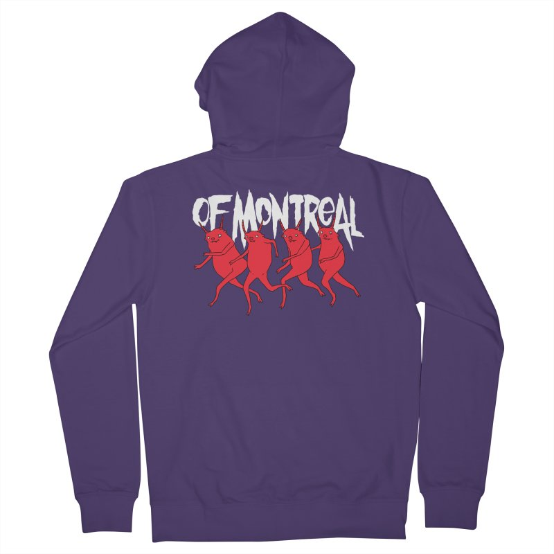 of Montreal - Devils Women's French Terry Zip-Up Hoody by Polyvinyl Threadless Shop
