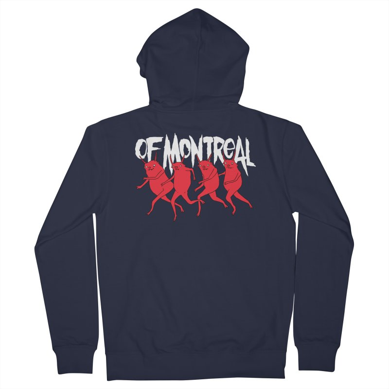 of Montreal - Devils Men's Zip-Up Hoody by Polyvinyl Threadless Shop