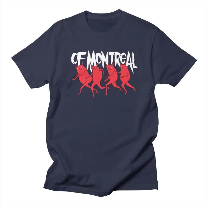 of Montreal - Devils in Men's Regular T-Shirt Navy by Polyvinyl Threadless Shop