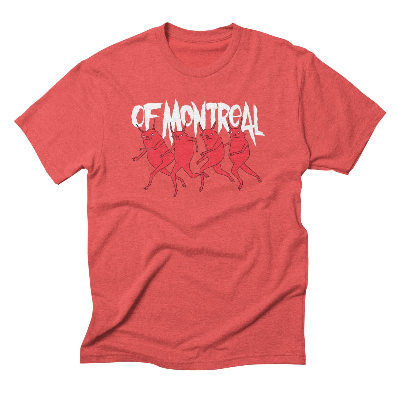 of Montreal - Devils Men's Triblend T-Shirt by Polyvinyl Threadless Shop
