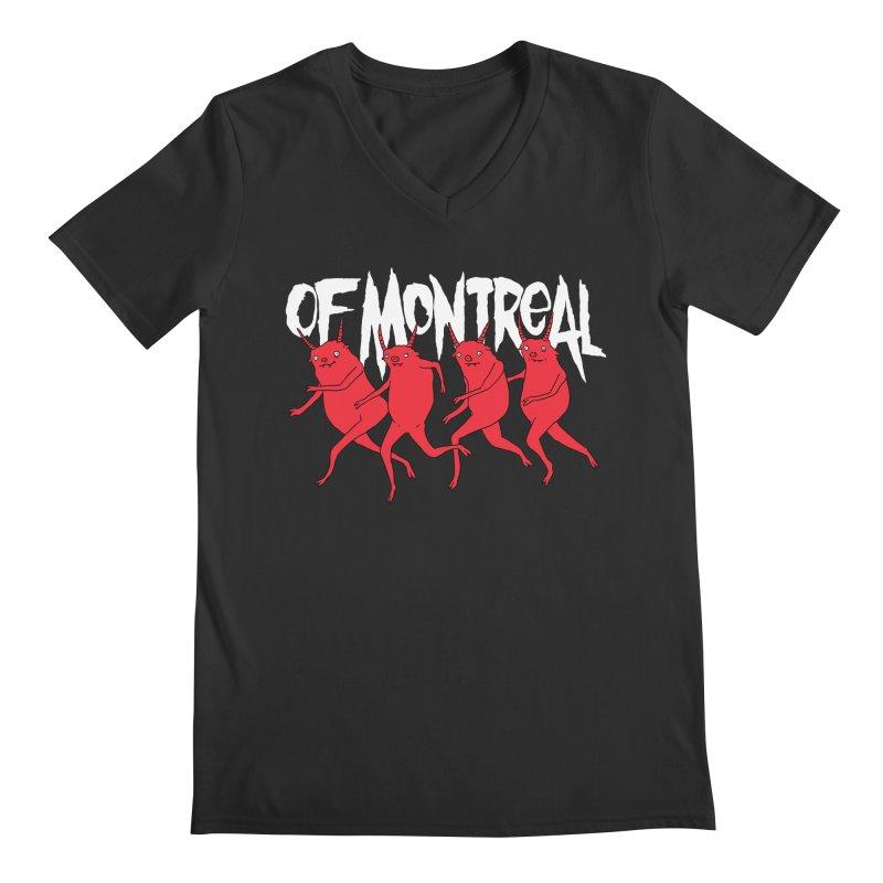 of Montreal - Devils Men's Regular V-Neck by Polyvinyl Threadless Shop