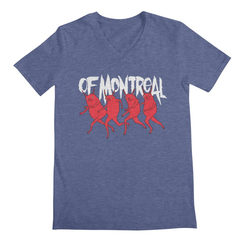 of Montreal - Devils Men's Regular V-Neck by Polyvinyl Threadless Shop