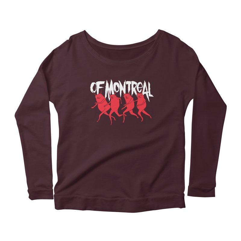 of Montreal - Devils Women's Longsleeve Scoopneck  by Polyvinyl Threadless Shop