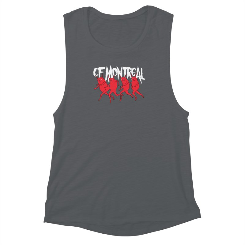 of Montreal - Devils Women's Muscle Tank by Polyvinyl Threadless Shop