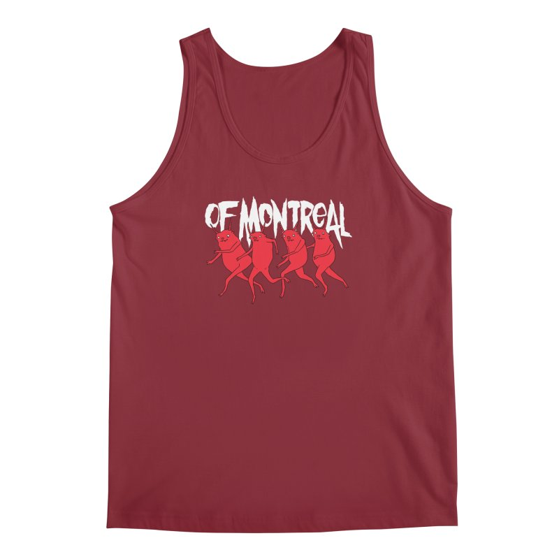of Montreal - Devils Men's Regular Tank by Polyvinyl Threadless Shop