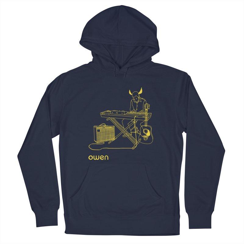 Owen - Horns, Guitars, and Keys Men's Pullover Hoody by Polyvinyl Threadless Shop