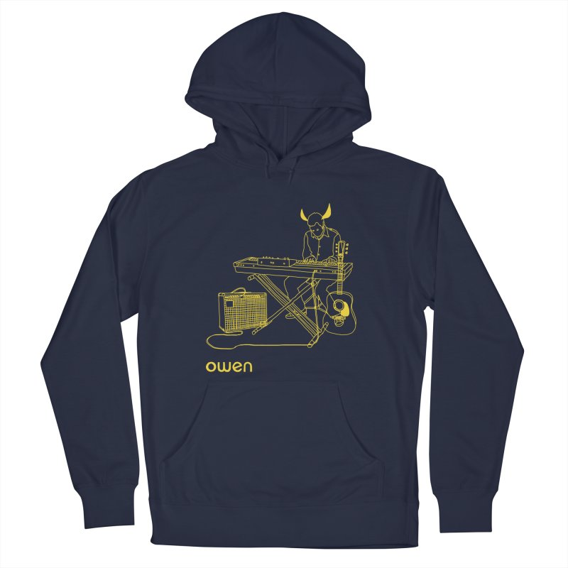 Owen - Horns, Guitars, and Keys Women's French Terry Pullover Hoody by Polyvinyl Threadless Shop