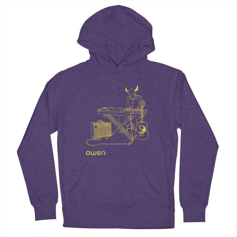 Owen - Horns, Guitars, and Keys Men's French Terry Pullover Hoody by Polyvinyl Threadless Shop
