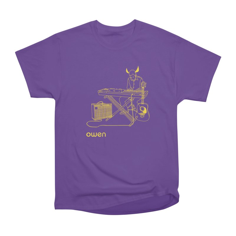 Owen - Horns, Guitars, and Keys Women's Heavyweight Unisex T-Shirt by Polyvinyl Threadless Shop