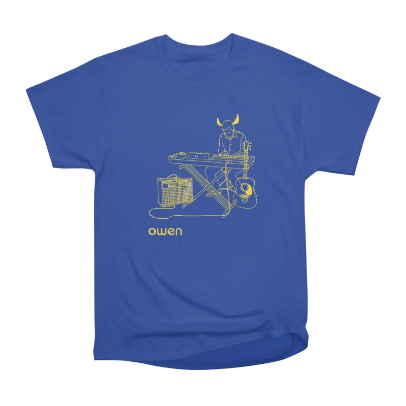 Owen - Horns, Guitars, and Keys Men's Heavyweight T-Shirt by Polyvinyl Threadless Shop