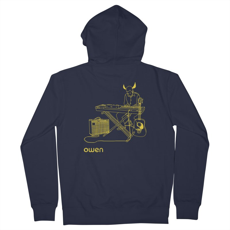 Owen - Horns, Guitars, and Keys Women's French Terry Zip-Up Hoody by Polyvinyl Threadless Shop