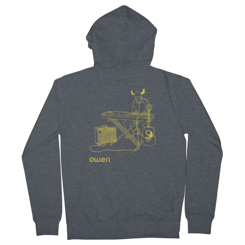 Owen - Horns, Guitars, and Keys Men's French Terry Zip-Up Hoody by Polyvinyl Threadless Shop