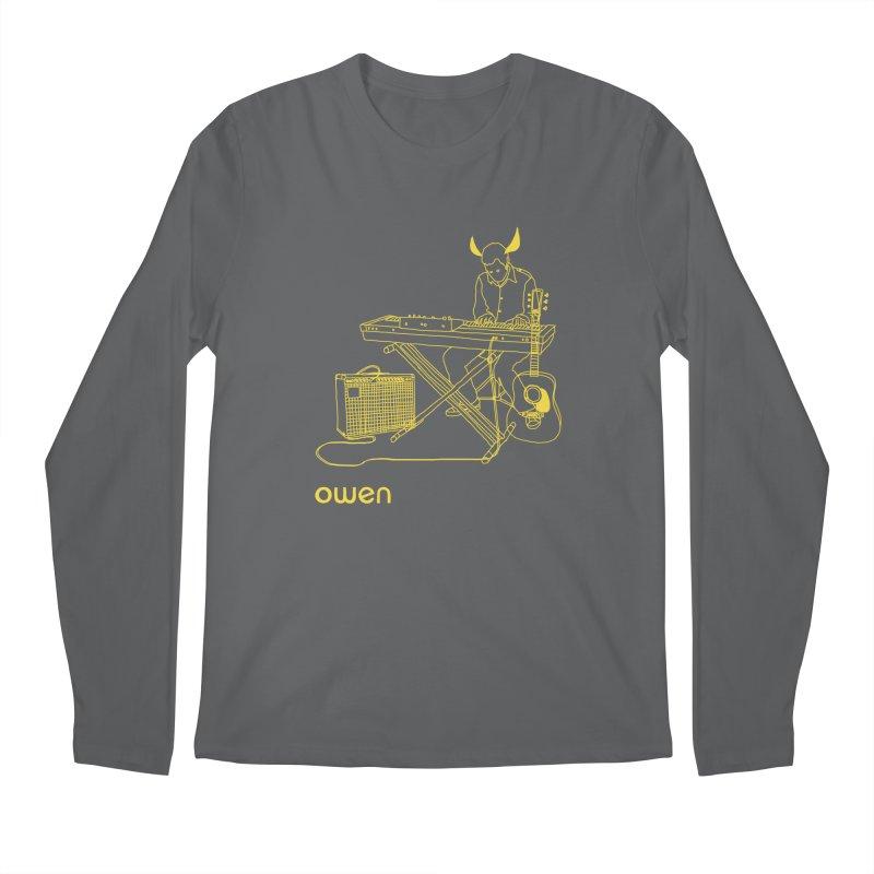 Owen - Horns, Guitars, and Keys Men's Longsleeve T-Shirt by Polyvinyl Threadless Shop