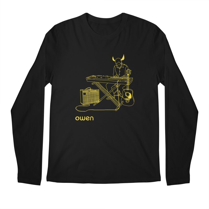 Owen - Horns, Guitars, and Keys Men's Regular Longsleeve T-Shirt by Polyvinyl Threadless Shop