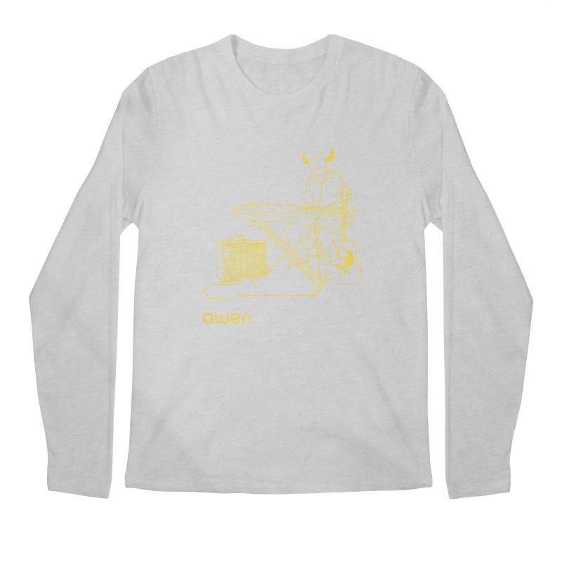 Owen - Horns, Guitars, and Keys Men's Regular Longsleeve T-Shirt by Polyvinyl Threadless Shop