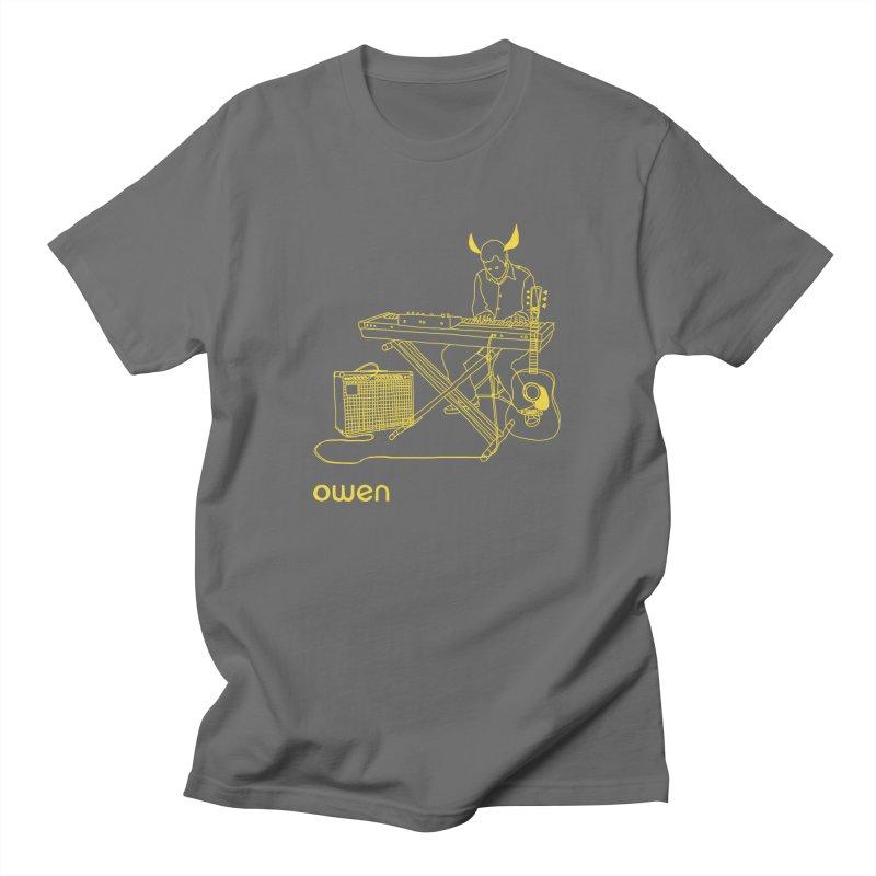 Owen - Horns, Guitars, and Keys Men's T-Shirt by Polyvinyl Threadless Shop