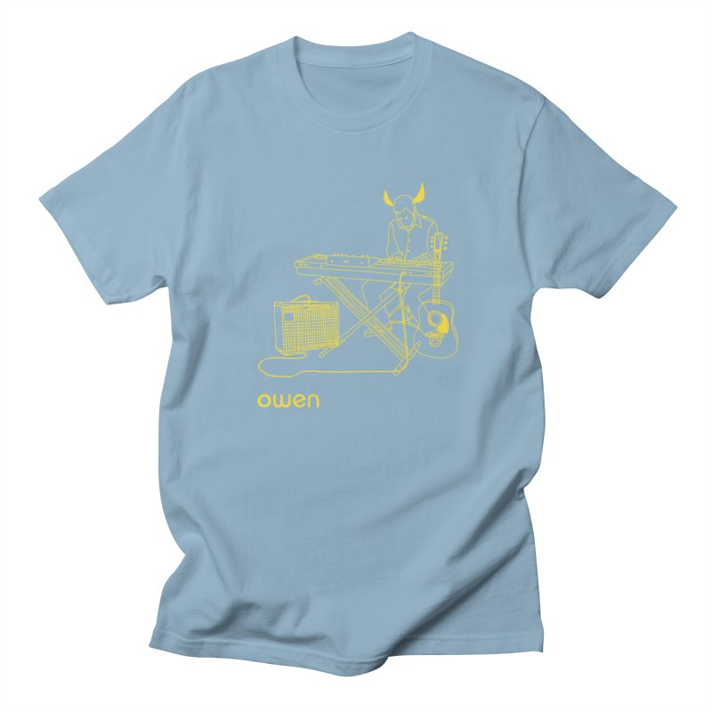 Owen - Horns, Guitars, and Keys Men's Regular T-Shirt by Polyvinyl Threadless Shop