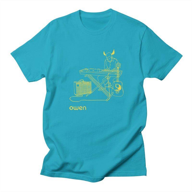 Owen - Horns, Guitars, and Keys Women's Regular Unisex T-Shirt by Polyvinyl Threadless Shop