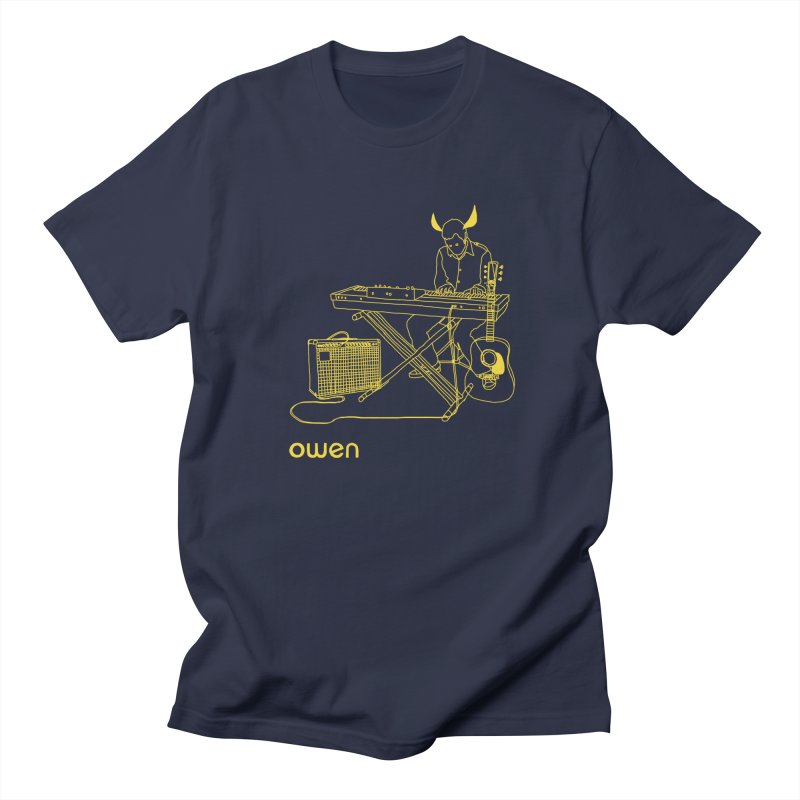 Owen - Horns, Guitars, and Keys Men's T-Shirt by Polyvinyl Threadless Shop