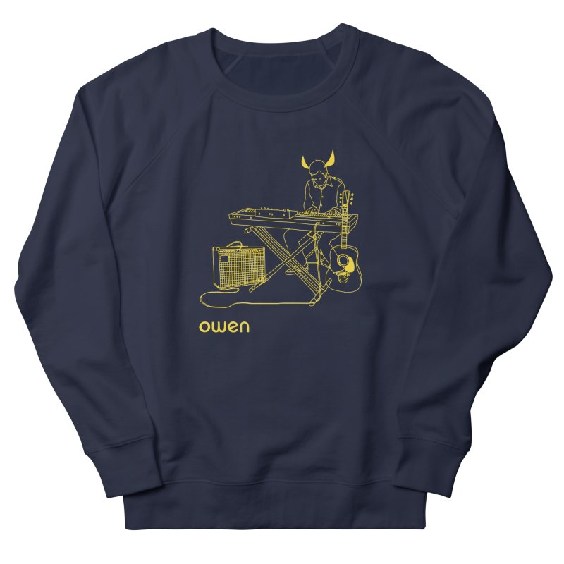 Owen - Horns, Guitars, and Keys Women's French Terry Sweatshirt by Polyvinyl Threadless Shop
