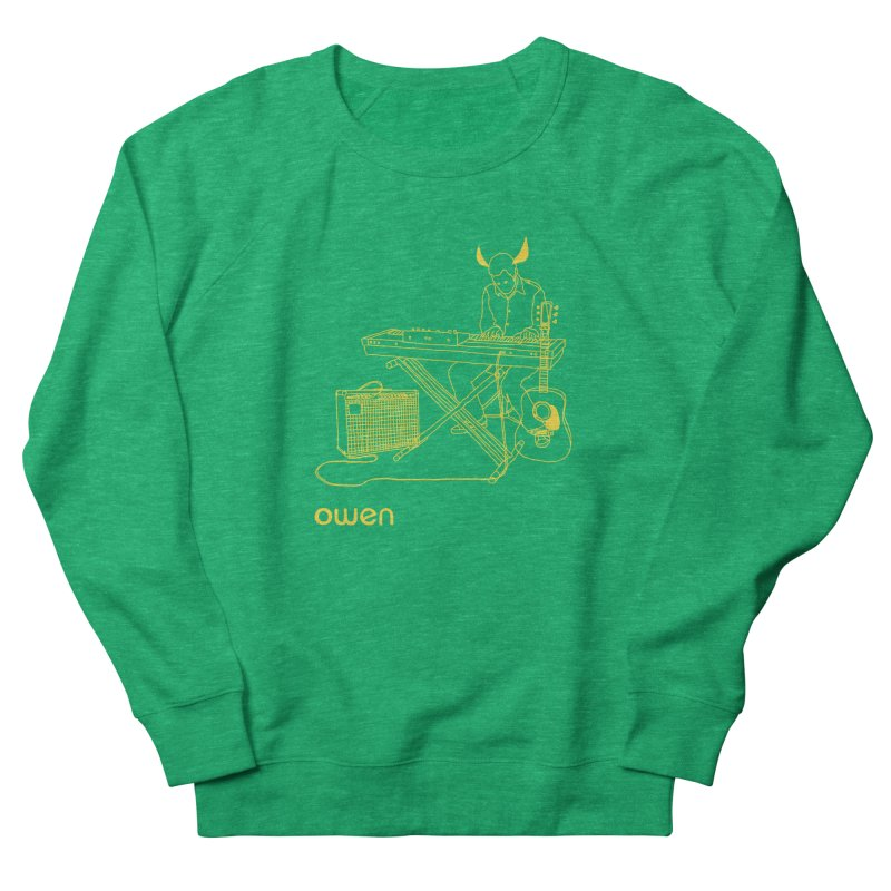Owen - Horns, Guitars, and Keys Men's French Terry Sweatshirt by Polyvinyl Threadless Shop