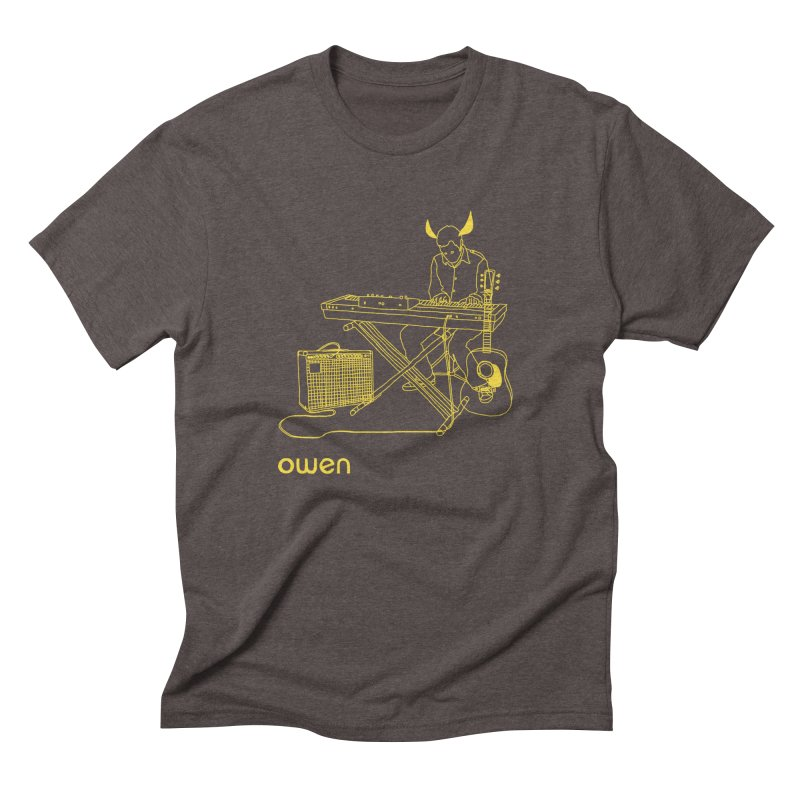 Owen - Horns, Guitars, and Keys Men's Triblend T-Shirt by Polyvinyl Threadless Shop