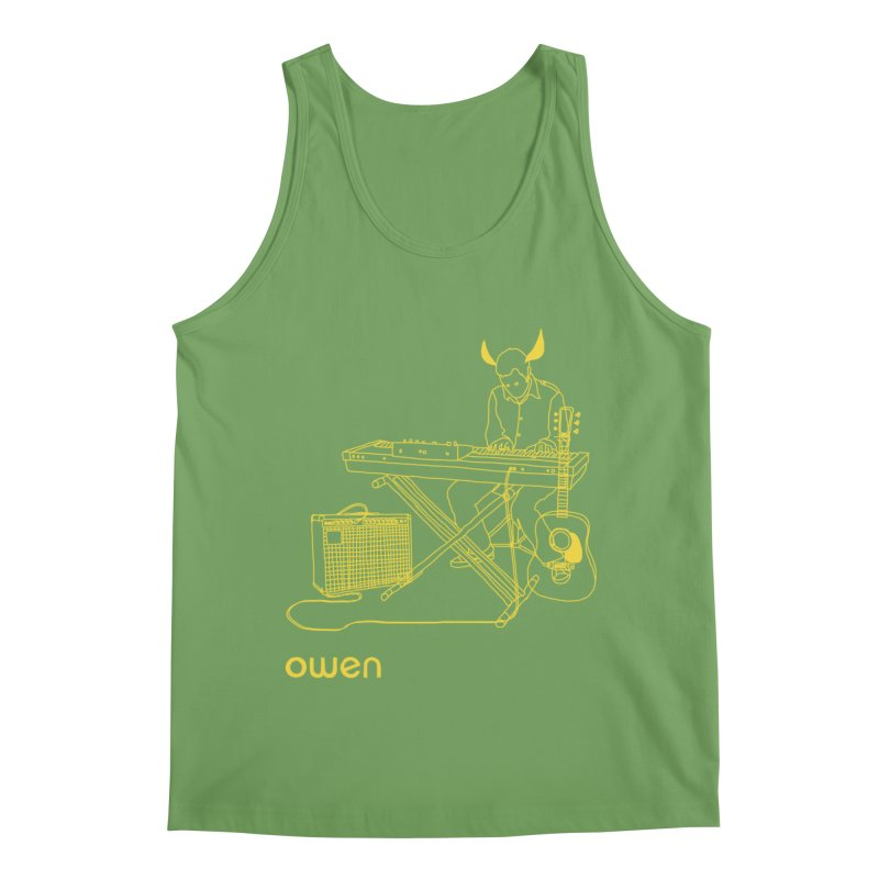 Owen - Horns, Guitars, and Keys Men's Tank by Polyvinyl Threadless Shop