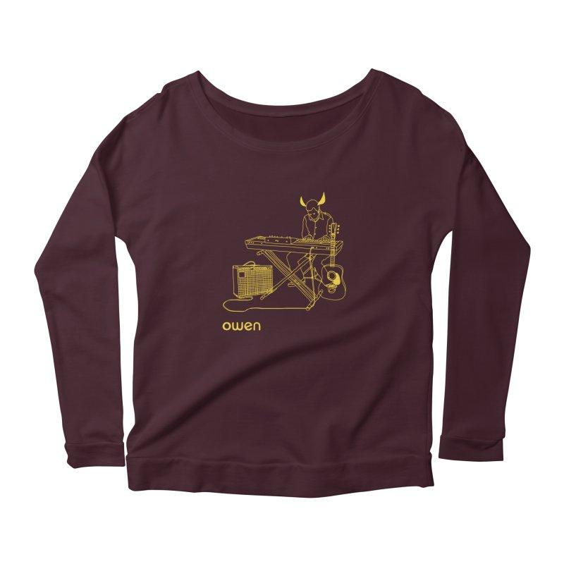 Owen - Horns, Guitars, and Keys Women's Longsleeve T-Shirt by Polyvinyl Threadless Shop