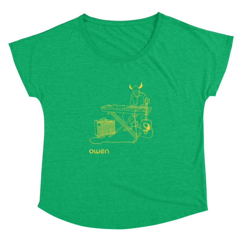 Owen - Horns, Guitars, and Keys Women's Dolman Scoop Neck by Polyvinyl Threadless Shop