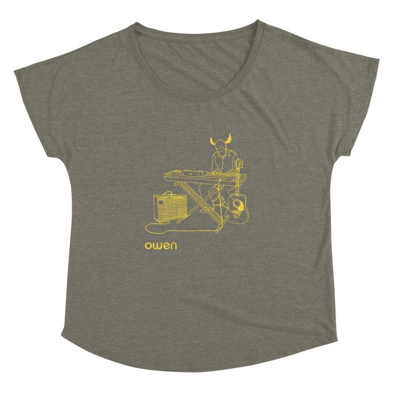 Owen - Horns, Guitars, and Keys Women's Dolman by Polyvinyl Threadless Shop