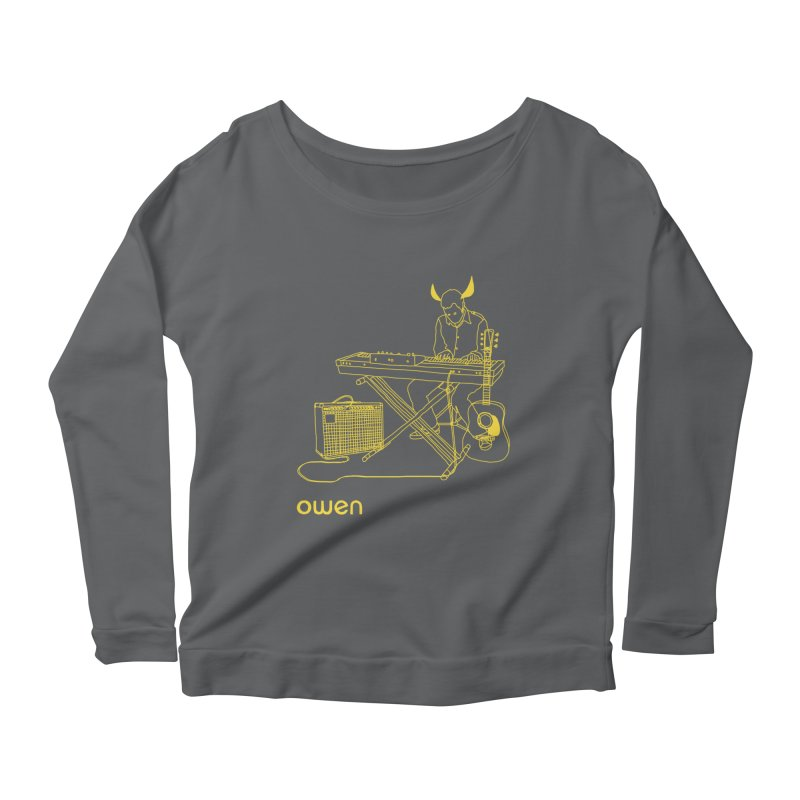 Owen - Horns, Guitars, and Keys Women's Longsleeve T-Shirt by Polyvinyl Threadless Shop
