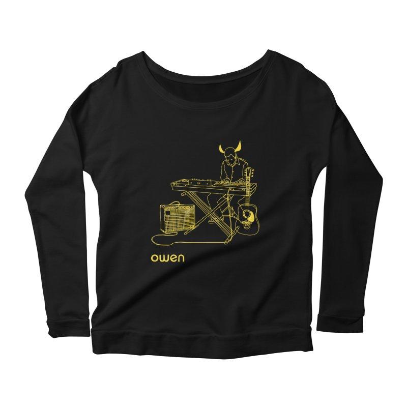 Owen - Horns, Guitars, and Keys Women's Longsleeve Scoopneck  by Polyvinyl Threadless Shop