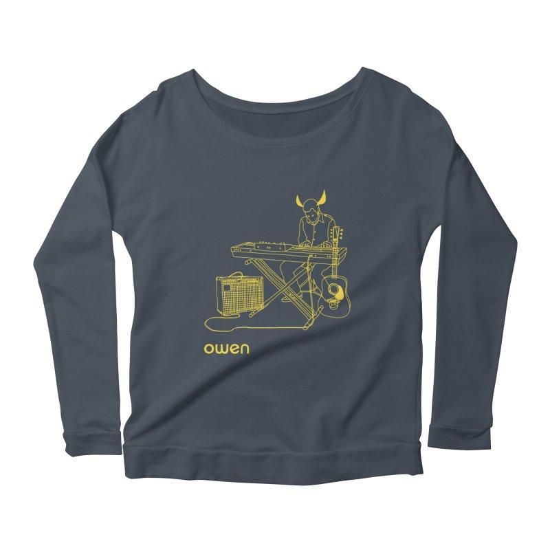 Owen - Horns, Guitars, and Keys Women's Scoop Neck Longsleeve T-Shirt by Polyvinyl Threadless Shop