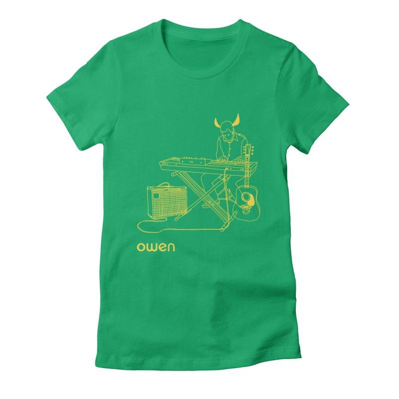 Owen - Horns, Guitars, and Keys Women's Fitted T-Shirt by Polyvinyl Threadless Shop