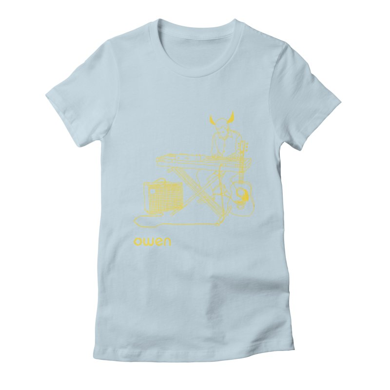 Owen - Horns, Guitars, and Keys Women's T-Shirt by Polyvinyl Threadless Shop