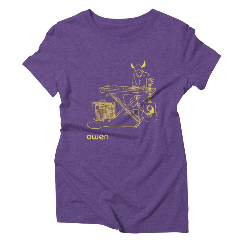 Owen - Horns, Guitars, and Keys Women's Triblend T-Shirt by Polyvinyl Threadless Shop