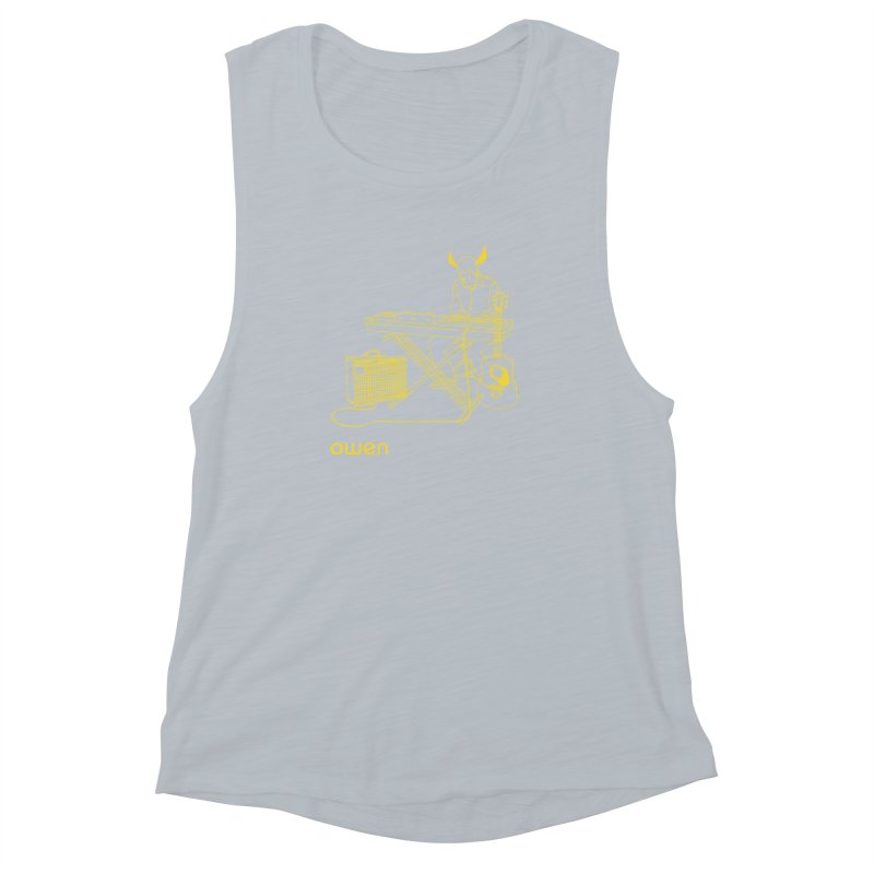 Owen - Horns, Guitars, and Keys Women's Muscle Tank by Polyvinyl Threadless Shop