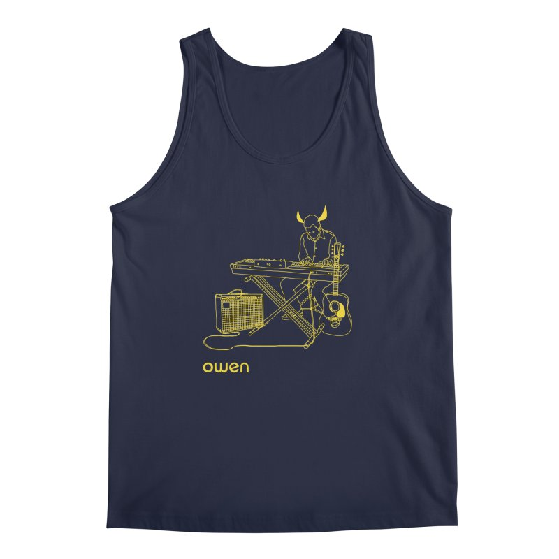 Owen - Horns, Guitars, and Keys Men's Regular Tank by Polyvinyl Threadless Shop