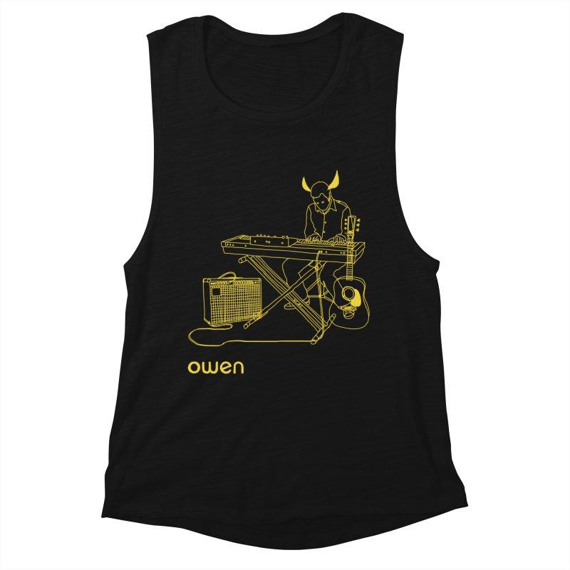 Owen - Horns, Guitars, and Keys Women's Muscle Tank by Polyvinyl Threadless Shop