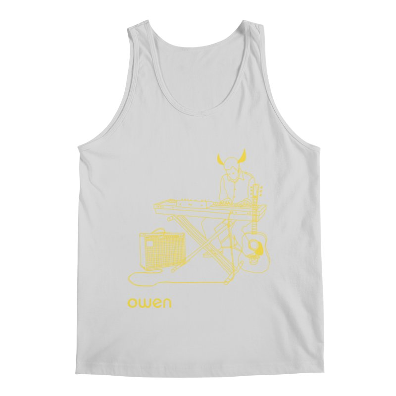 Owen - Horns, Guitars, and Keys Men's Regular Tank by Polyvinyl Threadless Shop