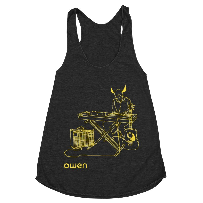 Owen - Horns, Guitars, and Keys Women's Racerback Triblend Tank by Polyvinyl Threadless Shop