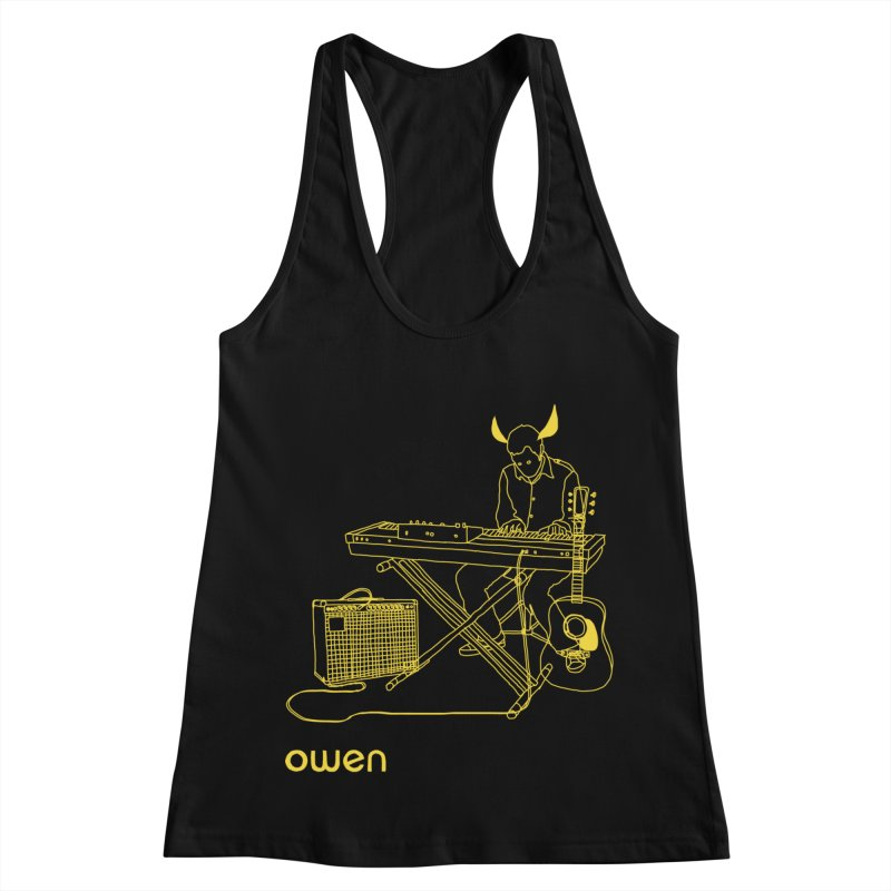 Owen - Horns, Guitars, and Keys Women's Racerback Tank by Polyvinyl Threadless Shop