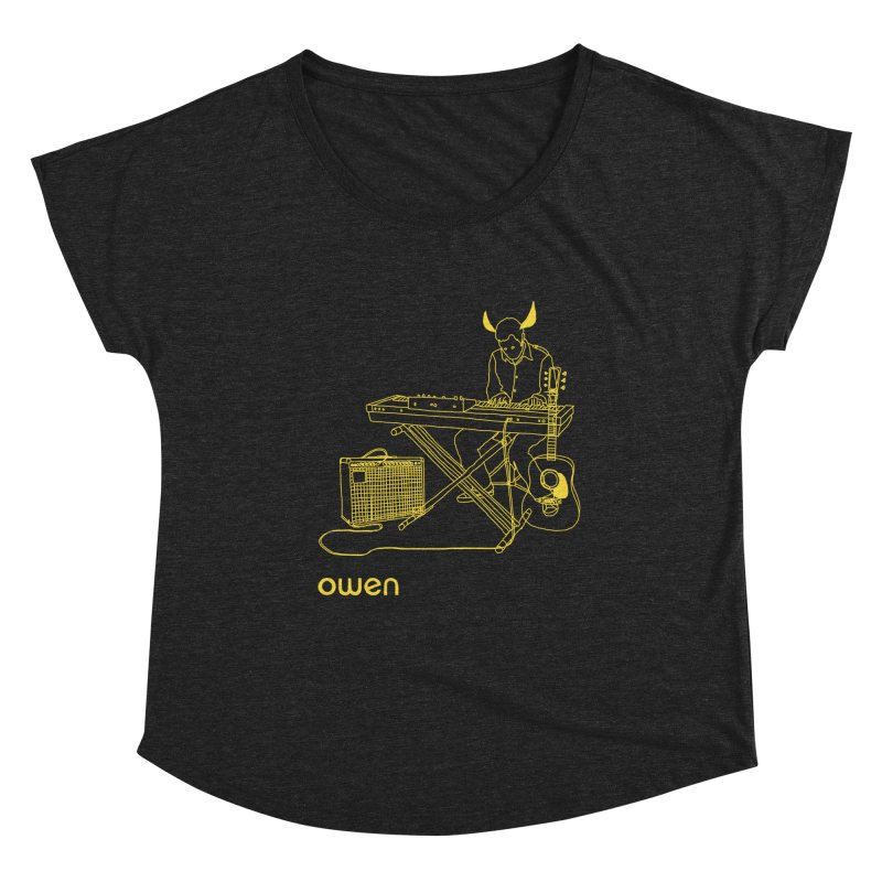 Owen - Horns, Guitars, and Keys Women's Scoop Neck by Polyvinyl Threadless Shop