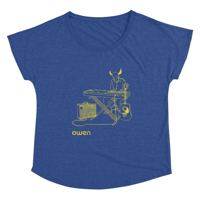 Owen - Horns, Guitars, and Keys Women's Scoop Neck by Polyvinyl Threadless Shop